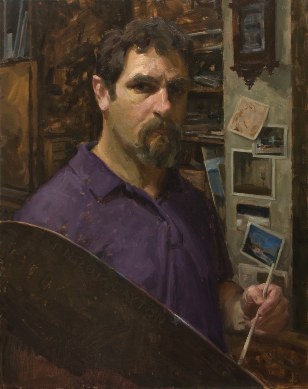 Rick Piloco Self Portrait